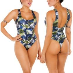 Body Vestido de Baño Doble Faz PRAIE REF: B010 Control Abdomen