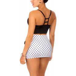 PRAIE High Waisted Bikini REF: 1301 Cautiva *Tummy Control