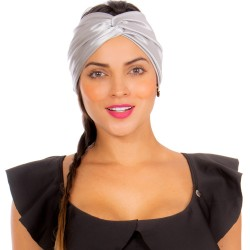 Turban REF: TB001L Noche Hair Band Bows Accessory Lycra