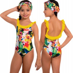 PRAIE KIDS One piece Swimsuit REF: 2202N Pájaros Birds