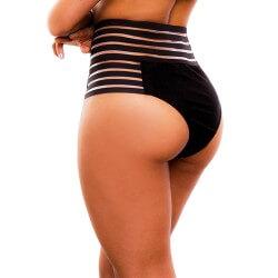 Panty Alto de Vestido de Baño PRAIE REF: 1735B Retro Elástico