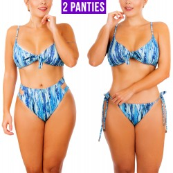 PRAIE High Waist Bikini REF: 2326 Tie Dye *3 Pieces