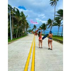 Vestido de Baño Bikini PRAIE REF: 2318 Strapless Brasilera