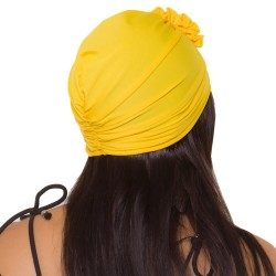PRAIE Turban REF: TB005B Flor Swim cap Hair Band Bows Accessory