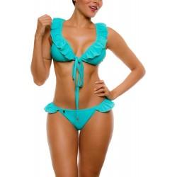 PRAIE Bikini REF: 2037 Decora (Aquamarine)