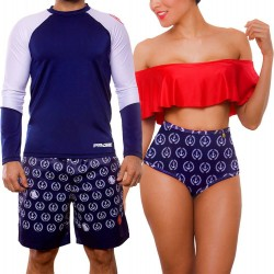 PRAIE Swim Trunk REF: 2015B Anchors *Smart Antifluid