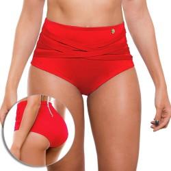 Panty Alto de Vestido de Baño PRAIE REF: 1010B Retro Cruce