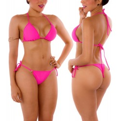 Panty PRAIE REF: 2126B Brasilera Bronceo (Fucsia)