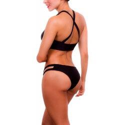PRAIE Bikini Swimsuit REF: 1302A Halter Étnico