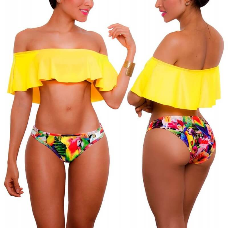 PRAIE Bikini Swimsuit REF: 1318 Escote Bardot
