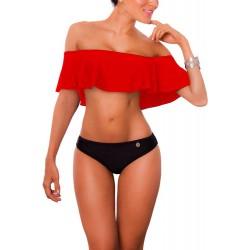 PRAIE Bikini Swimsuit REF: 1318 Escote Bardot Boleros