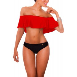 Vestido de Baño Bikini PRAIE REF: 1318 Escote Bardot Boleros