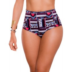 PRAIE Swimsuit Bottom REF: 9014B Retro Étnico