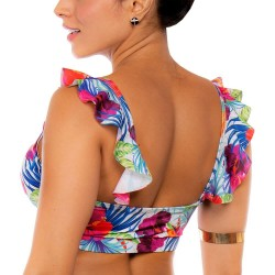 PRAIE Swimsuit Top REF: 2012A Coqueta Flowers Boleros