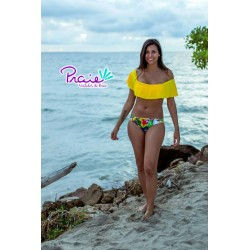 PRAIE Swimsuit Bottom REF: 1318B2 Descaderado Pájaros