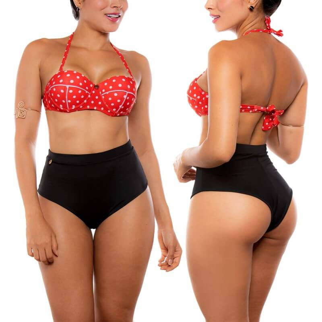 PRAIE High Waist Bikini REF: 2210 80s