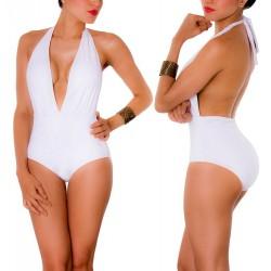 Vestido de Baño Enterizo PRAIE REF: 1408 Escote V Profundo