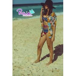 PRAIE High waist Bikini REF: 1506 Pattern