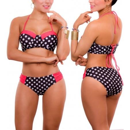 Vestido de Baño Bikini PRAIE REF: 1518 Push-up Strapless
