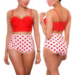 PRAIE High waist Bikini REF: 1639 New Look