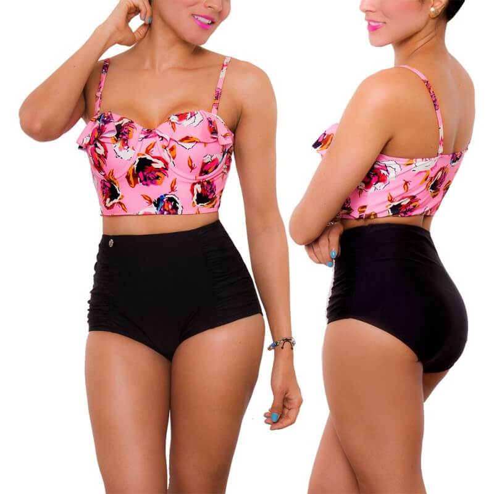 PRAIE High waist Bikini REF: 1639 New Look