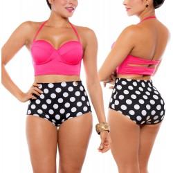 Vestido de Baño Bikini RETRO PRAIE REF: 9012 Barbie Bolas