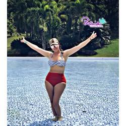 Vestido de Baño Bikini RETRO PRAIE REF: 9013 Marinero