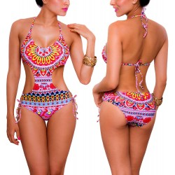PRAIE One piece Swimsuit REF: 1303 Mandalas Trikini