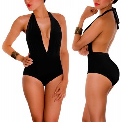 PRAIE One piece Swimsuit REF: 1408 Escote