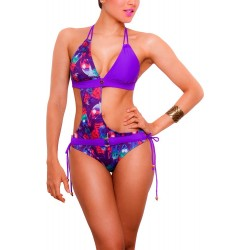 PRAIE One piece Swimsuit REF: 1434 Asimétrico Trikini