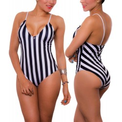 PRAIE One piece Swimsuit REF: 1645 Estiliza Rayas