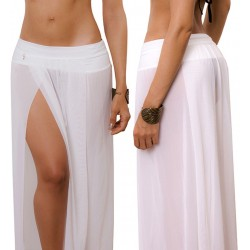 PRAIE Beachwear REF: 1420 Long Skirt Veils Mesh