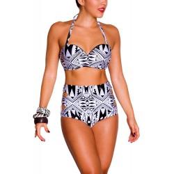 PRAIE High waist Bikini REF: 1231 Maori