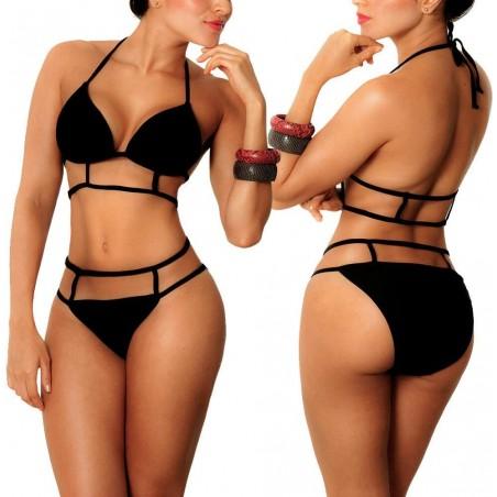 PRAIE Bikini Swimsuit REF: 1131 Celdas (Black)