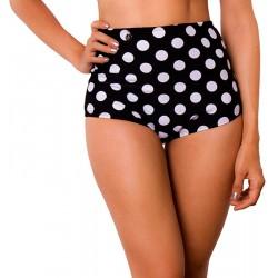 Panty Alto de Vestido de Baño PRAIE REF: 9012B Retro Cachetero