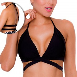 PRAIE Swimsuit Top REF: 1710A Triangulo Cruzado