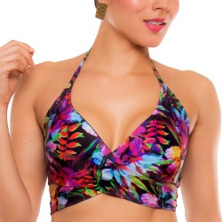 PRAIE Swimsuit Top REF: 1704A Sutil Flowers Double Face